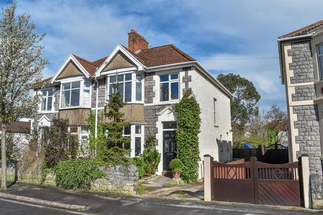 Thumbnail Semi-detached house for sale in Chesham Road North, Weston-Super-Mare