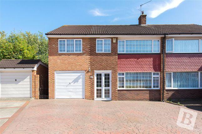 Thumbnail Semi-detached house for sale in Vauxhall Close, Northfleet, Gravesend, Kent