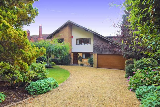 Thumbnail Detached house for sale in Temple Road, Dorridge, Solihull