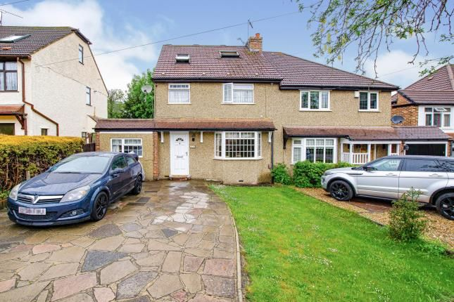 Thumbnail Semi-detached house for sale in Markfield Road, Caterham, Surrey, .