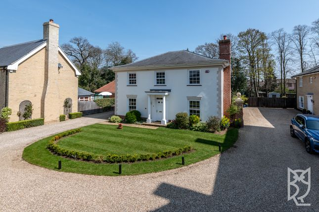 Thumbnail Detached house for sale in Lawford Place, Lawford, Manningtree