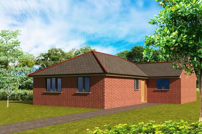 Thumbnail Detached bungalow for sale in 5 Crown Green, Off Westfield Lane, Mansfield
