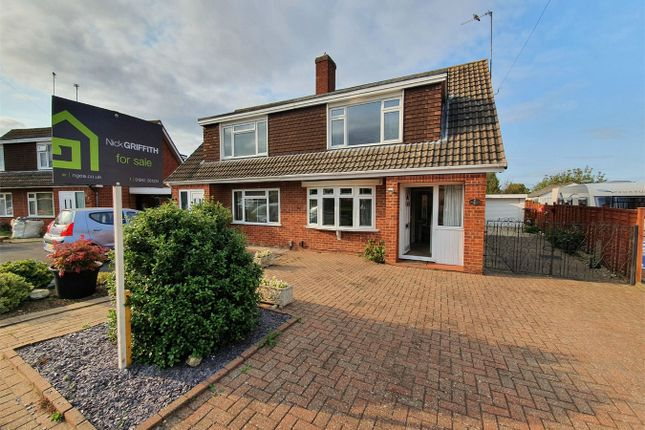 Thumbnail Semi-detached house for sale in Solway Road, Cheltenham