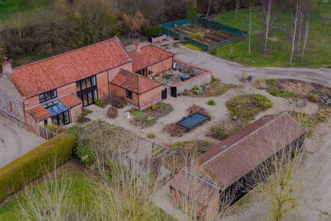Thumbnail Barn conversion for sale in Whissonsett Road, Stanfield, Dereham