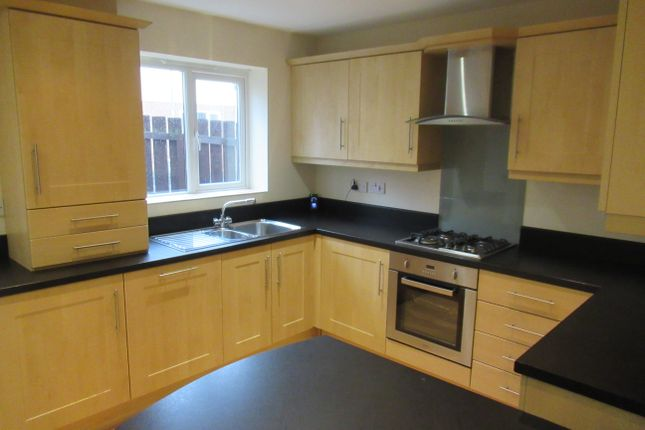 Thumbnail Town house to rent in Low Grange Court, Spennymoor