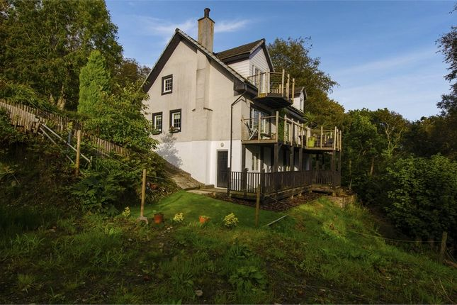 Thumbnail Detached house for sale in Argyll Road, Kilcreggan, Helensburgh, Argyll And Bute