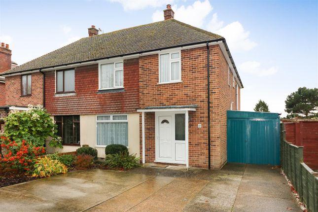 Thumbnail Semi-detached house for sale in Johns Green, Sandwich, Kent