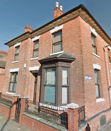 Thumbnail Shared accommodation to rent in Fosse Road North, Leicester
