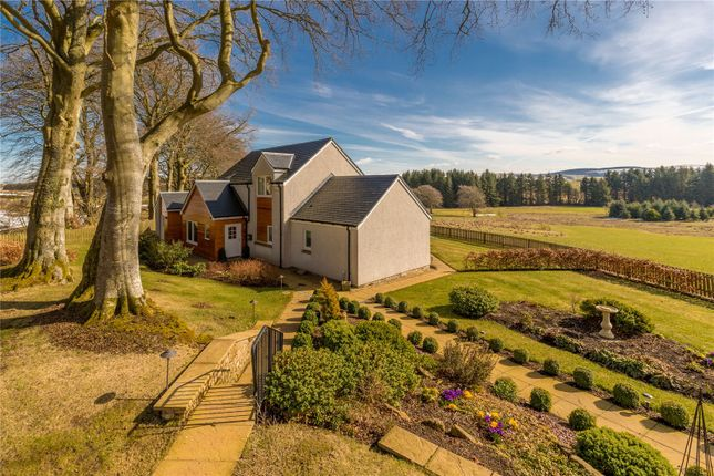 Thumbnail Detached house for sale in Rutherford Castle Drive, West Linton, Peeblesshire