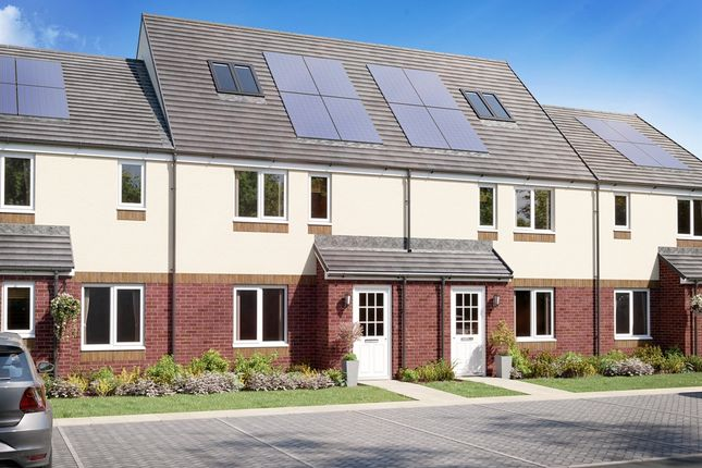 """Thumbnail Terraced house for sale in """"The Brodick """" at Tarbolton Road, Monkton, Prestwick"""
