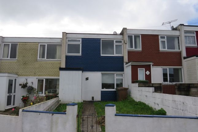 Thumbnail Terraced house for sale in Byron Avenue, Brake Farm, Plymouth