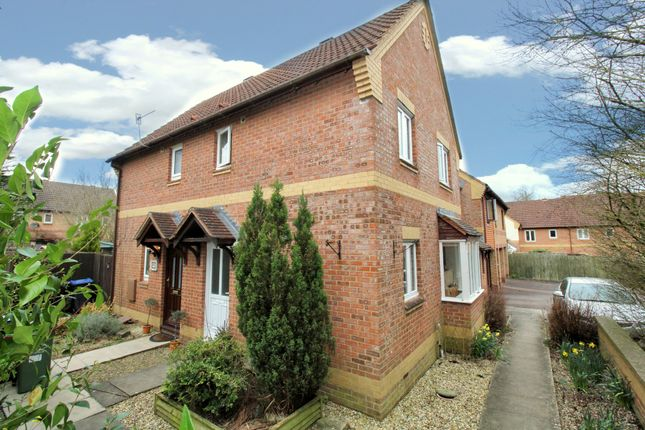 Thumbnail Semi-detached house to rent in Penny Royal Close, Calne