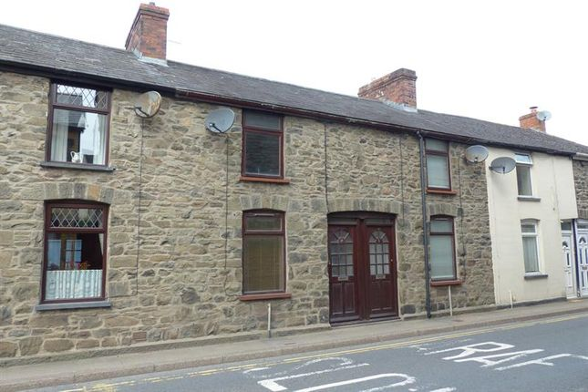 Thumbnail Terraced house to rent in Brecon Road, Builth Wells
