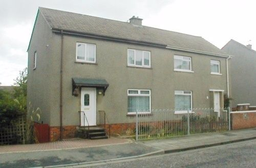 Thumbnail Semi-detached house to rent in Caledonia Road, Ayr