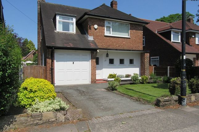 Thumbnail Detached house for sale in Cecil Avenue, Sale, Greater Manchester.
