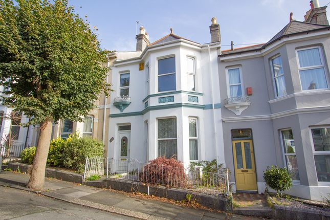 Thumbnail Terraced house for sale in Seymour Avenue, St Judes, Plymouth