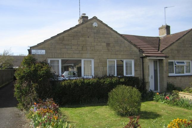 Thumbnail Terraced bungalow for sale in Courtbrook, Fairford
