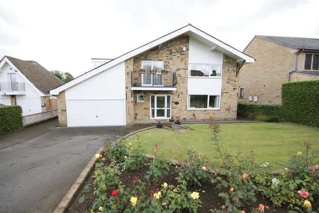 Thumbnail 4 bed detached house for sale in Hollytree House, 8 Cawcliffe Road, Brighouse