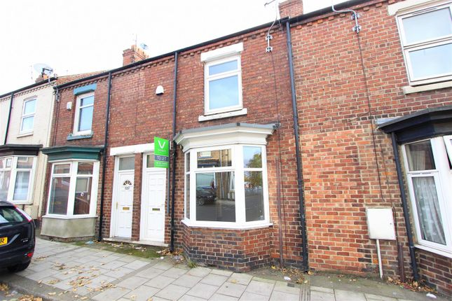 Thumbnail Terraced house to rent in Eastmount Road, Darlington