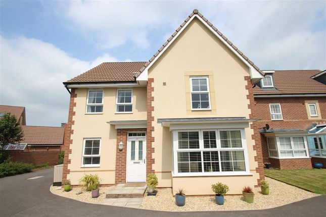 Thumbnail Detached house to rent in Rosemary Way, Melksham, Wiltshire