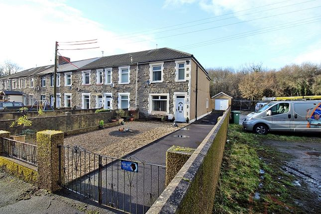 Thumbnail End terrace house for sale in Railway Terrace, Talbot Green, Pontyclun, Rhondda, Cynon, Taff.