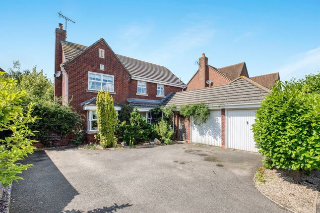Thumbnail Detached house for sale in Alderman Way, Weston Under Wetherley, Leamington Spa