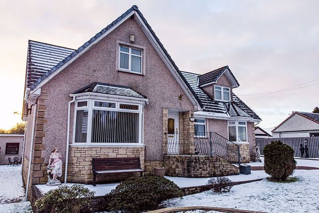 Thumbnail Detached house for sale in Telegraph Road, Longriggend, Airdrie