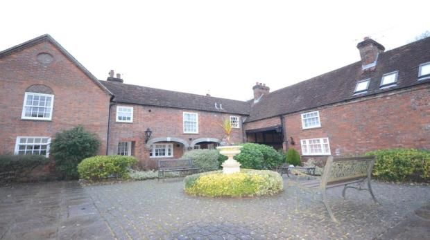Thumbnail Terraced house for sale in Becket Court, Basingstoke, Hampshire