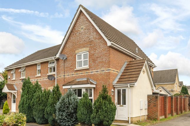 Thumbnail End terrace house for sale in Old Warren, Taverham, Norwich