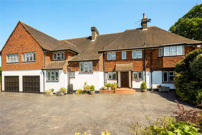 Thumbnail Detached house for sale in Wilmerhatch Lane, Epsom, Surrey