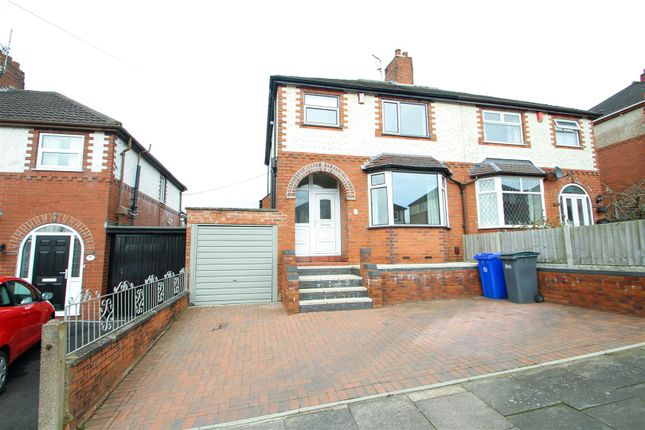 Thumbnail Semi-detached house to rent in Stross Avenue, Tunstall, Stoke-On-Trent