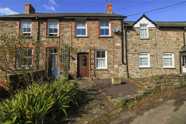 Thumbnail Terraced house for sale in Mill Street, Crickhowell, Powys