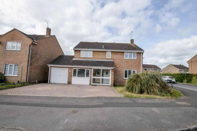 Thumbnail Detached house for sale in Liskeard Way, Freshbrook, Swindon