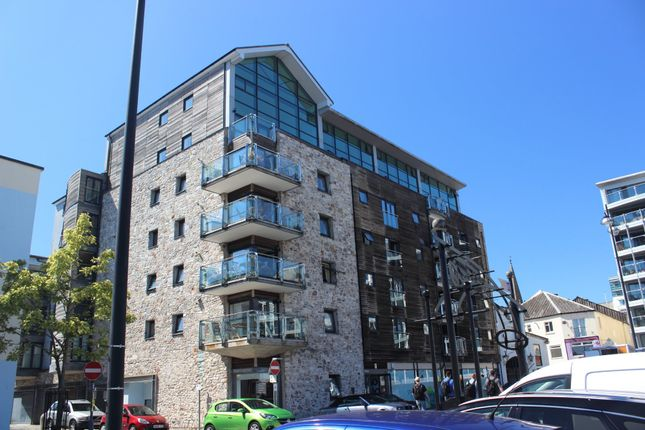 Thumbnail Flat for sale in Century Quay, Vauxhall Street, The Barbican, Plymouth, Devon