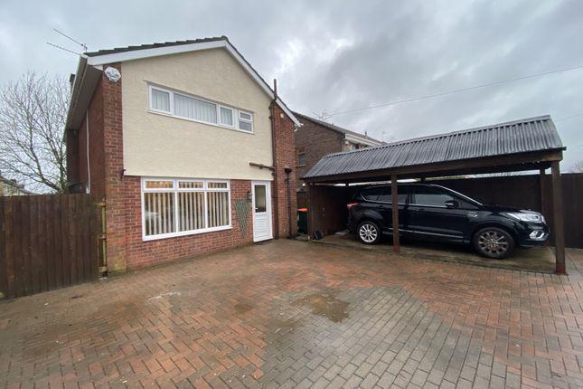 Thumbnail Detached house to rent in Pilton Vale, Malpas, Newport