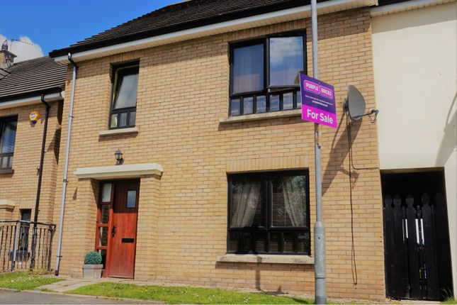 Thumbnail End terrace house for sale in Butlers Wharf, Derry / Londonderry