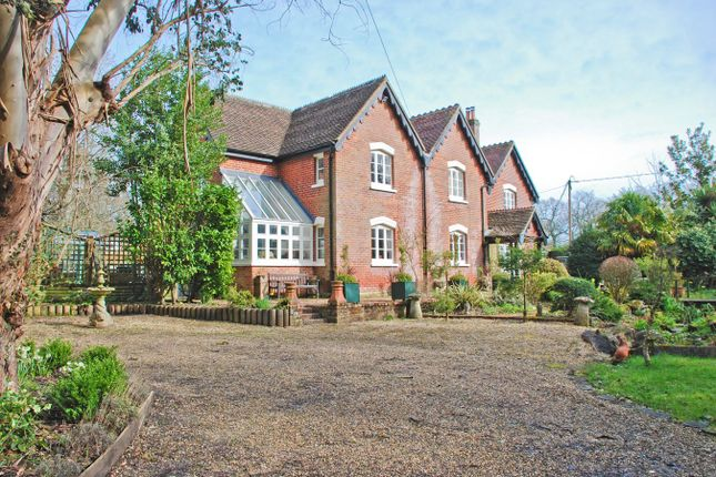 Thumbnail Country house for sale in South Drive, Ossemsley, New Milton