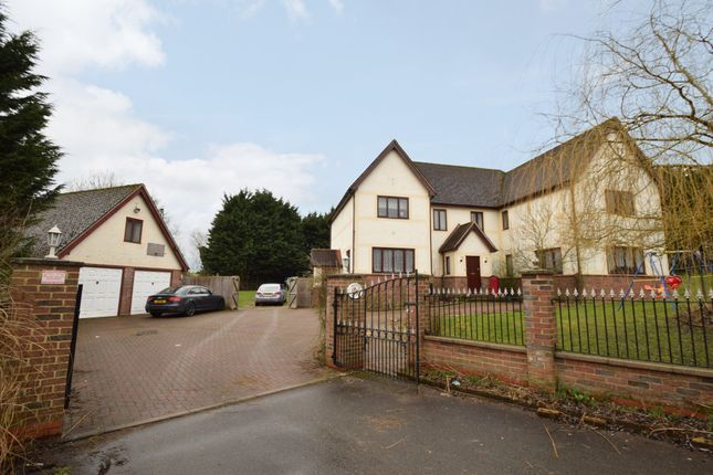 Thumbnail Detached house for sale in Homestall Crescent, Withersfield, Haverhill