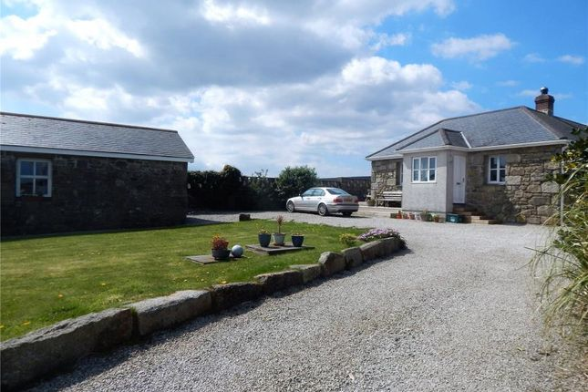 Thumbnail Detached bungalow for sale in Higher Amalwidden, Towednack, St Ives