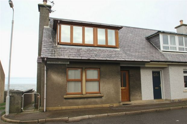 Thumbnail Semi-detached house to rent in Forteath Street, Burghead, Moray