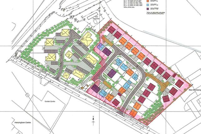 Thumbnail Land for sale in Hensingham, Linden Row, Residential Development Site, Whitehaven