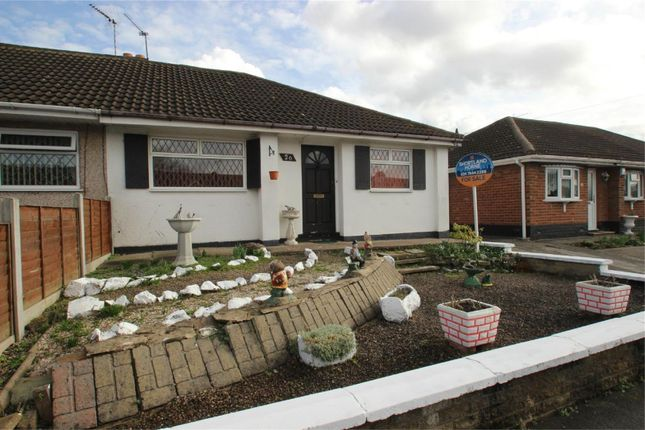 Thumbnail Semi-detached bungalow for sale in Robert Road, Exhall, Coventry