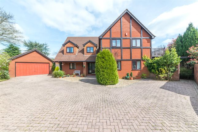 Thumbnail Detached house for sale in The Paddocks, Groesfaen