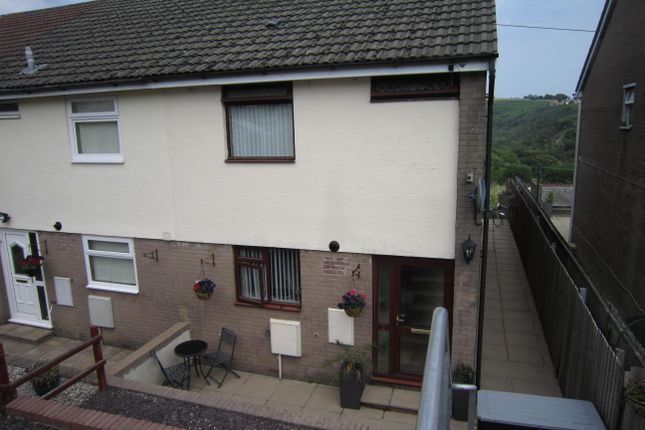 Thumbnail Semi-detached house for sale in Llancayo Park, Bargoed