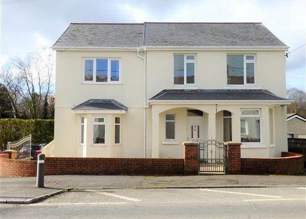 Thumbnail Detached house for sale in Carmarthen Road, Cross Hands, Llanelli