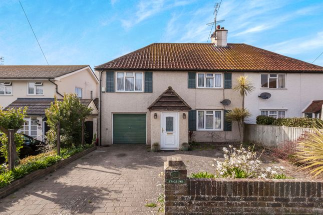 Thumbnail Semi-detached house for sale in Little Twitten, Bexhill-On-Sea