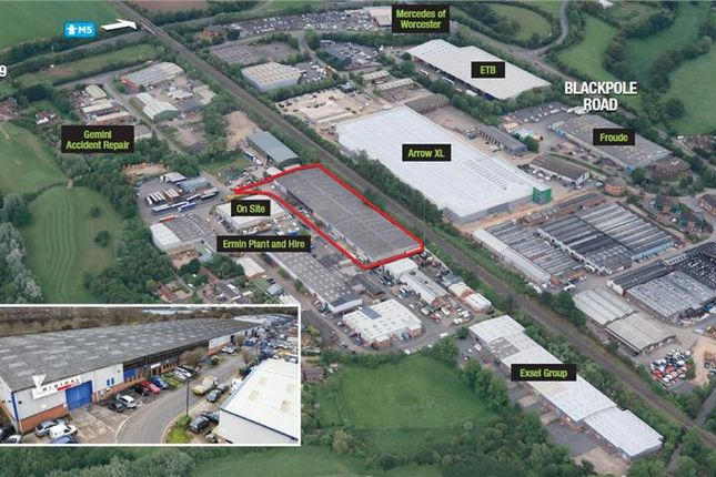 Thumbnail Light industrial for sale in Unit 62, Blackpole Trading Estate West, Worcester, Worcestershire