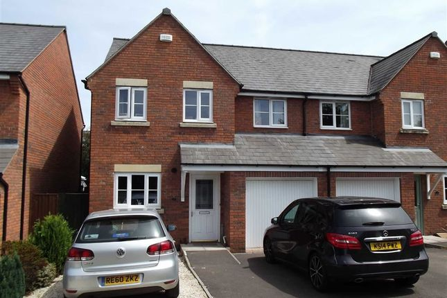 Thumbnail Semi-detached house for sale in Bells Place, Ross On Wye, Herefordshire
