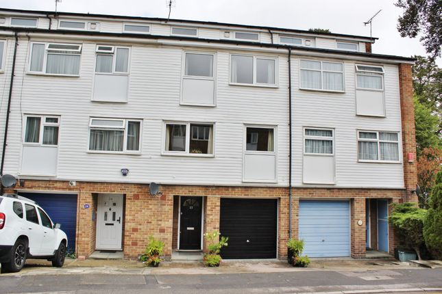 Thumbnail Town house for sale in Ashdon Close, Woodford Green