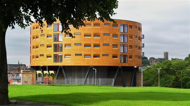 Thumbnail Flat to rent in Bridge Square Apartment, Kingsway, Lancaster